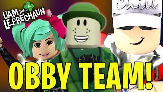 LIAM THE LEPRECHAUN'S ROBLOX OBBY - TEAM PLAY