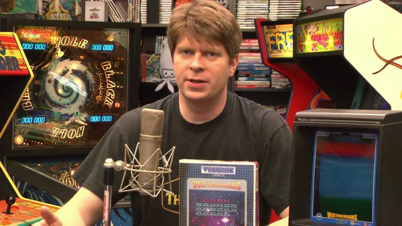 Classic Game Room - VECTREXIANS review for Vectrex - YouTube