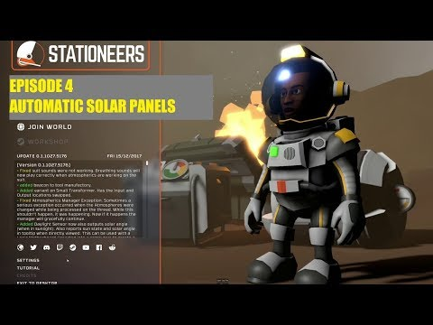 Stationeers - Major Gosnell -Episode 4 Automating Solar Panels
