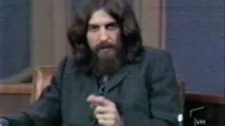 George Harrison Swears & Insults Paul and Yoko