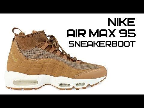 Обзор ботинок Nike Air Max 95 Sneakerboot