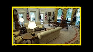 Hot News - This is the first thing donald trump has changed in the Oval Office after obama moved out