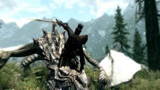 Skyrim - Finishing / Kill Moves Montage - PART 2 - Patch 1.5 and Dawnguard