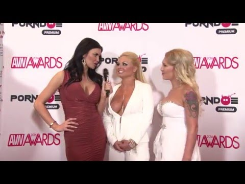 PornDoe Premium interview with Jesse Jane and Trista Campbell @ the AVN Awards 2016