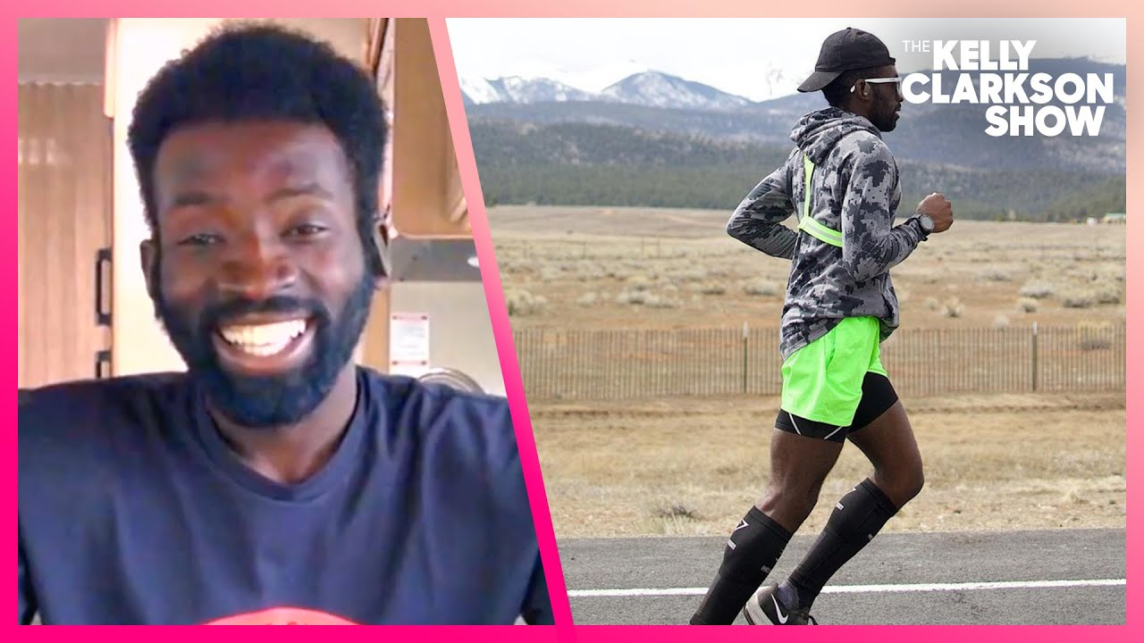 Athlete Is Running From LA To NYC For A Good Cause