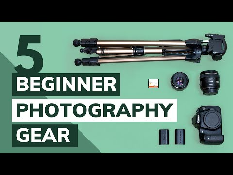 5 THINGS EVERY PHOTOGRAPHY BEGINNER NEEDS 📸  Tips U0026 Advice