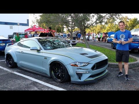 Why is this 2019 Ford Mustang Galpin RTR Wide body a ONE of a KIND?  - Raiti's Rides