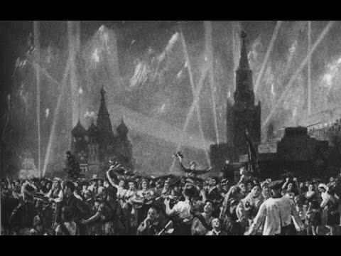 Внимание,  говорит  Москва !!! 9 Мая 1945 года!!!