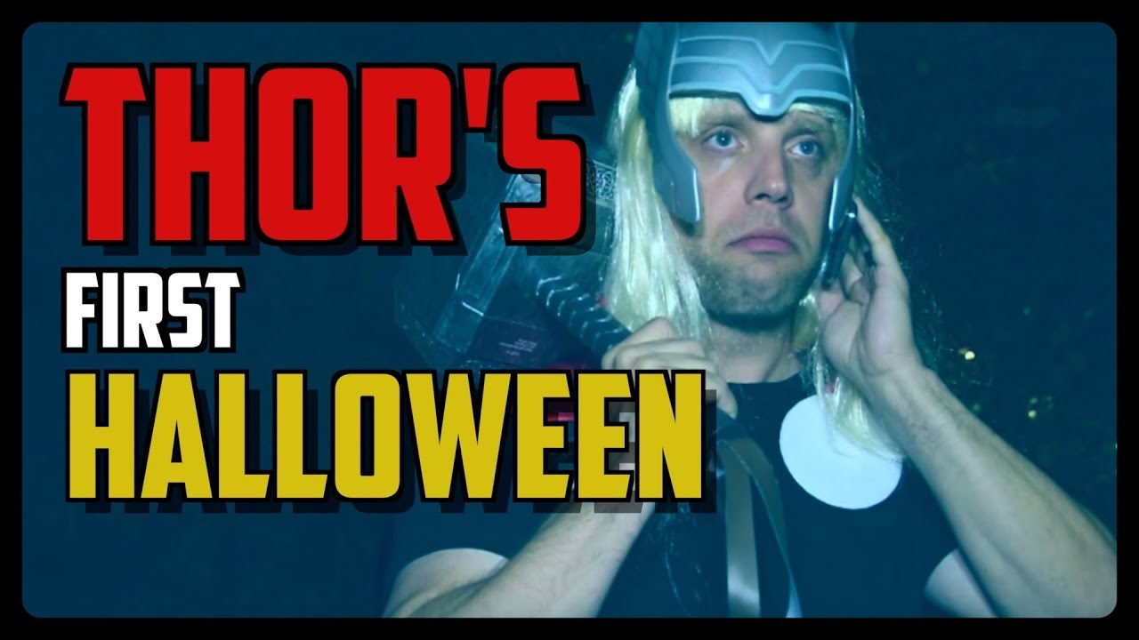 Sketch From Superheroes: Thor's First Halloween