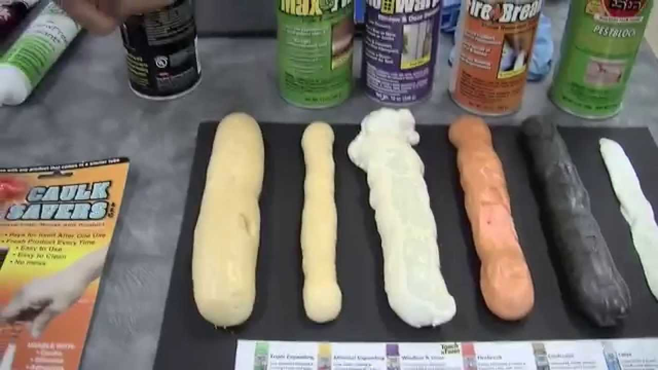 How To Apply Caulk And Expanding Foam Youtube