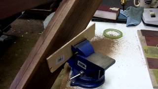 Diy Walnut Book Stand Made With All Hand Tools Part 1 Of 6  Round Two Woodworks