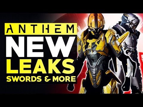 Anthem NEW LEAKS - SWORD Crafting, New ARMOR SETS For All Javelins, Abilities & More!