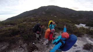 Kem Botak, Gunung Tahan (360-degree view)