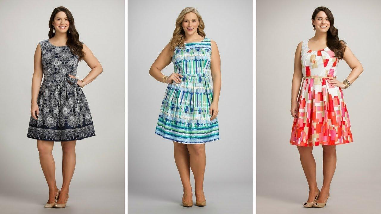 Vestidos sencillos y bonitos para gorditas