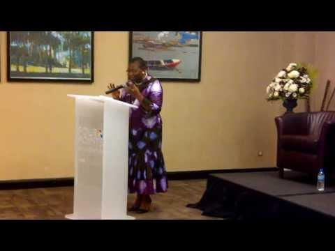 Oby Ezekwesili Speaks at Africa Business Women's Advocacy Forum in Lagos, Nigeria
