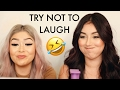 TRY NOT TO LAUGH CHALLENGE FT. DAISY MARQUEZ