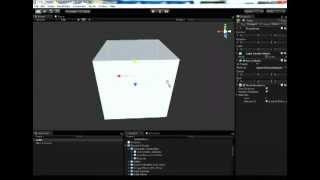 Unity3D Урок 1 - Пример игры Unity3D [Создание простой сцены]