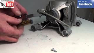 Стиральная машина не отжимает - замена щеток двигателя