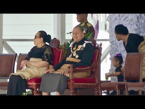 Royal Tongan Palace - Laka Fale Alea - 2017/2018 Tonga Parliament Opening March
