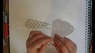 How to make a fan card papertole co uk