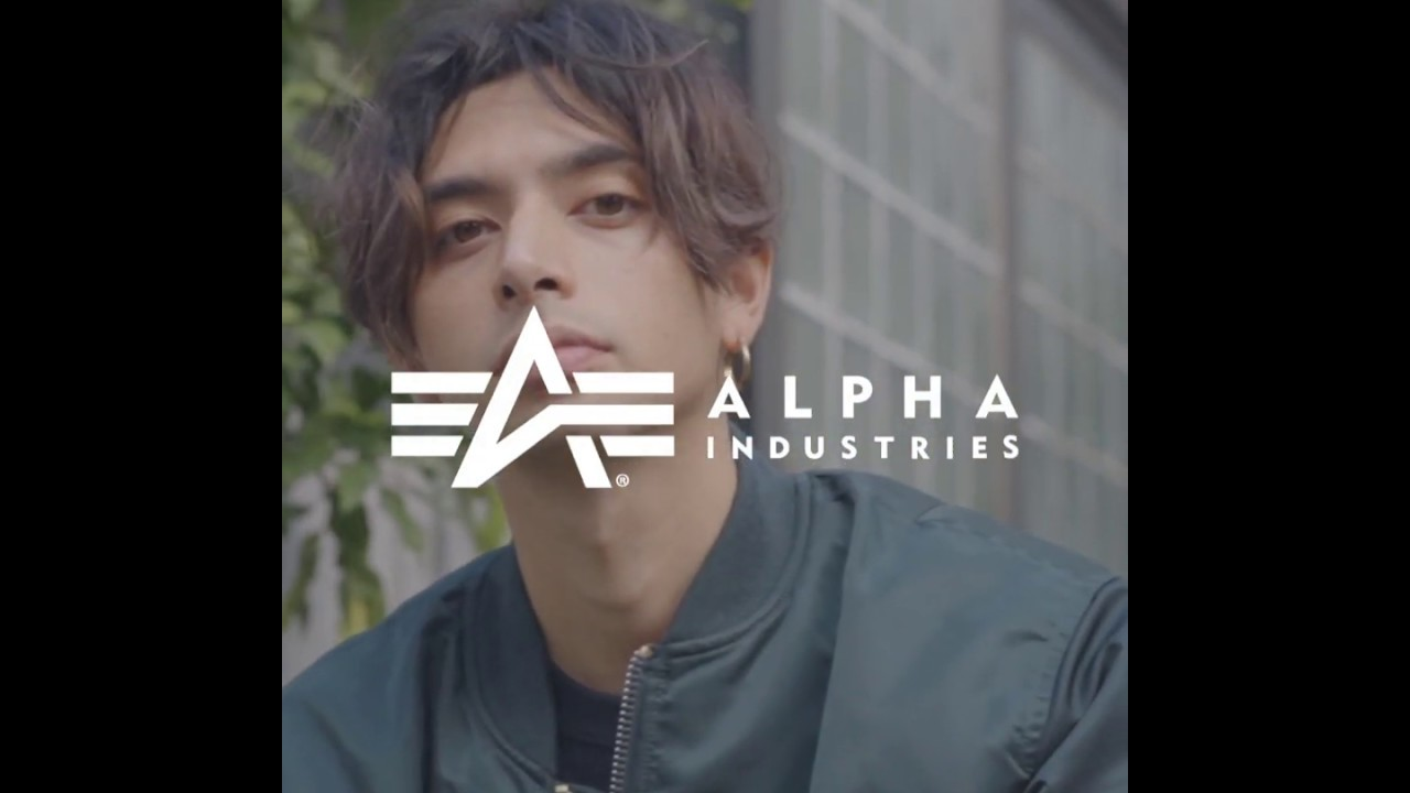 【Fashion Movie】ALPHA INDUSTRIES