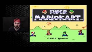 Super Mario Kart (SNES) Mushroom Cup 100cc