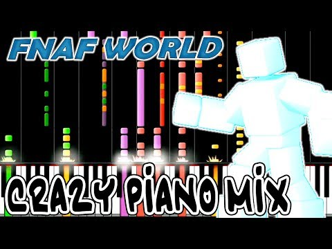 Crazy Piano Mix! Stone Cold (FNAF WORLD) Final Boss Theme