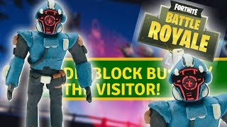 "DIY Blockbuster skin the visitor from ""Fortnite"" - clay tutorial"
