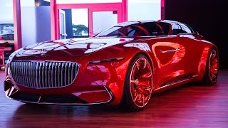 Vision Mercedes-Maybach 6 Concept Car First Look - 2016 Monterey Car Week