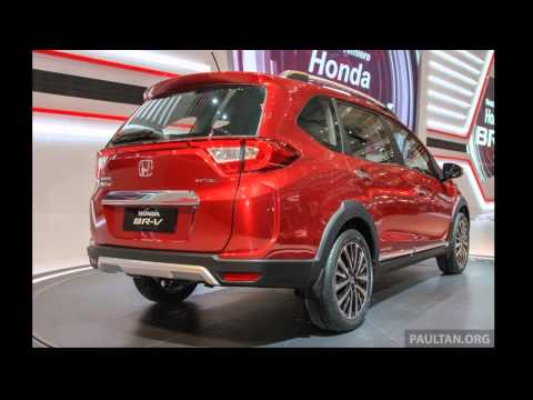 Grand New Avanza Vs Veloz Agya 1.2 Trd M/t Honda Br-v (brv) Live Preview From Giias 2015 By Autone ...