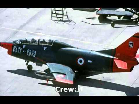 Fiat Aeritalia G.91 (Gina) Fighter-Bomber (1958) -  Info Details