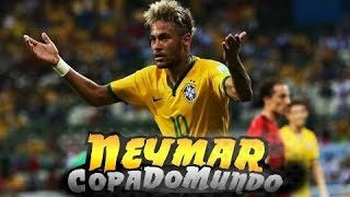 Neymar Jr ● Gols e Dribles ● Copa Do Mundo ● 2014