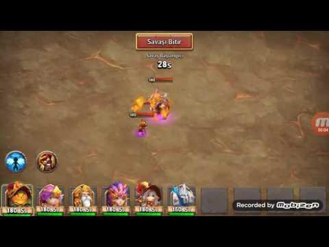 Castle Clash Boss 5 Slow Down Full 3min