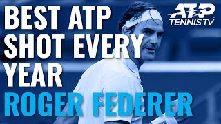 Best Roger Federer ATP Point For Every Year Since 2000!
