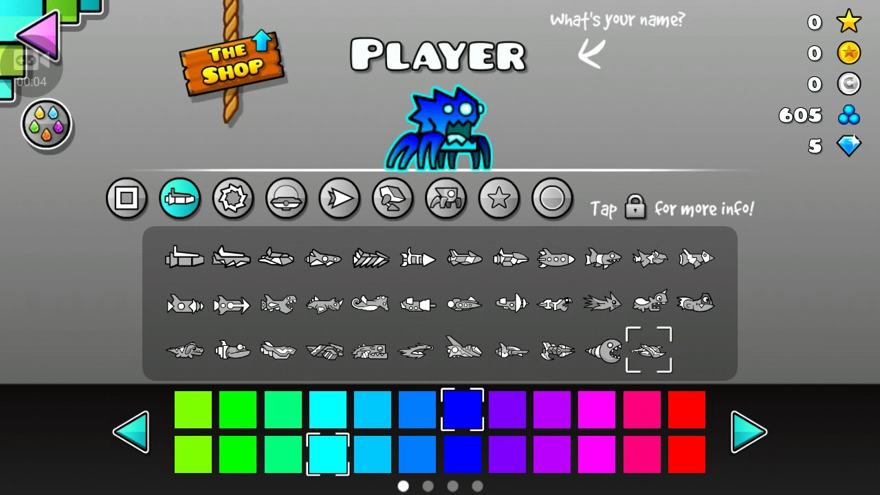 Geometry Dash 2 1 Hacked  All Icons And More