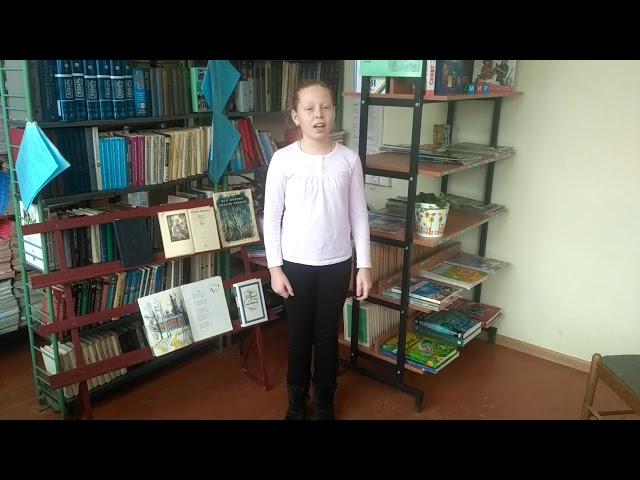 Изображение предпросмотра прочтения – ВарвараБашиева читает произведение «Зима недаром злится...» Ф.И.Тютчева