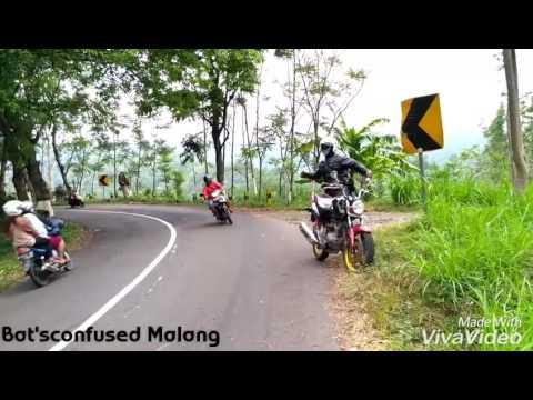 Joget Bikin ketawa !! Pasukan bikers bat'sconfused lagi joget di pingir jalan