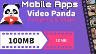 Video compresser | Panda Mobile Video compresser | How to compress video on Phone | Save Memory | screenshot 5