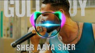 Sher Aaya Sher   Gully Boy   Reggaeton Mix   Dj remix   BASS Song 2020