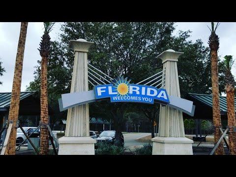 Florida Welcome Center 😎🌴