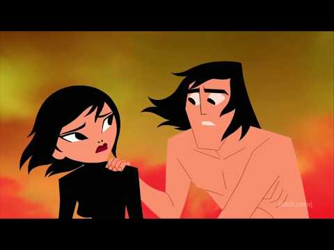 """Samurai Jack"" - Wedding of Jack and Ashi. Death of Ashi and the final scene [5x10: THE FINAL]."