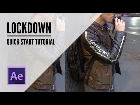 Lockdown for After Effect Quick Start Tutorial