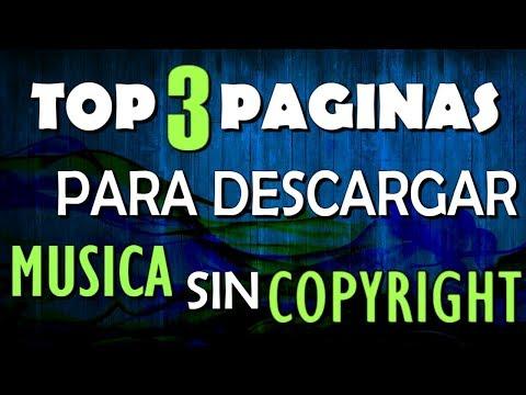TOP 3 Paginas para DESCARGAR MUSICA sin Copyright | Sin derechos de Autor