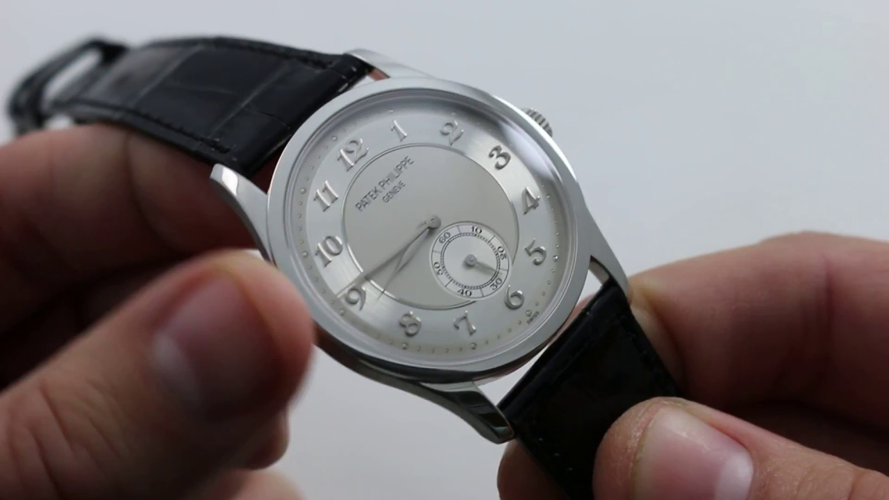 Pre Owned Patek Philippe Calatrava 5196p 001 Luxury Watch Review