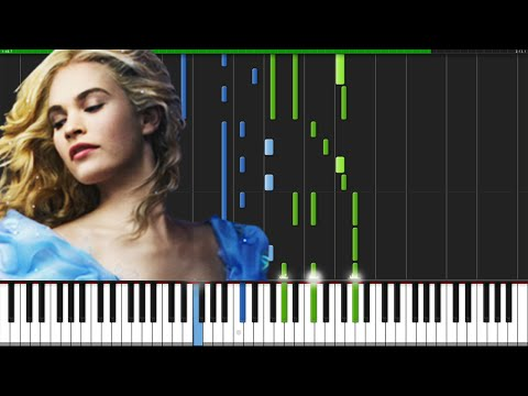 Lavender's Blue (Dilly Dilly) - Cinderella (2015) [Piano Tutorial] (Synthesia) // ThePandaTooth