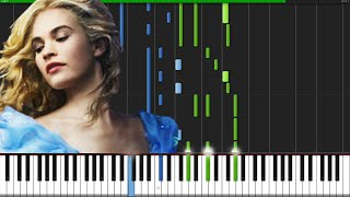 Lavender S Blue Dilly Dilly Cinderella 2015 Piano Tutorial Synthesia