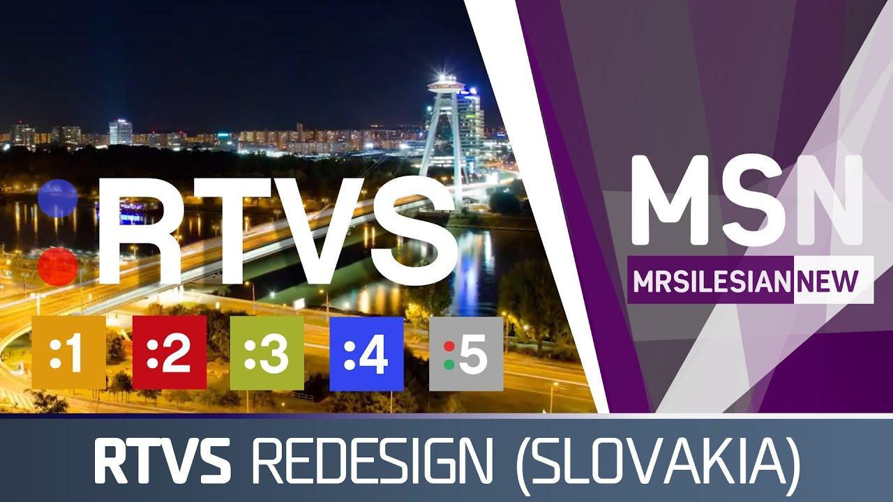Rozhlas a televízia Slovenska (RTVS) arculat (Saját terv 290cbc80c59