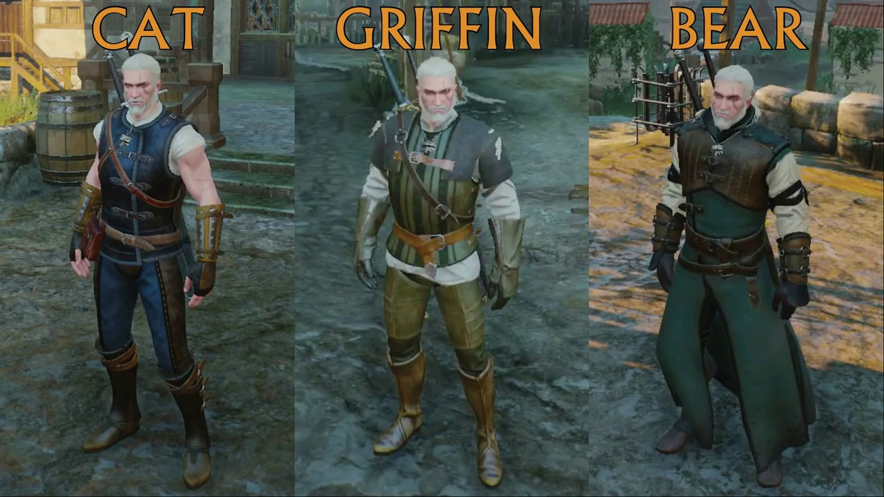 Best Witcher  Feline Armor Build