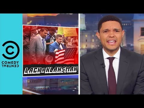 Charlottesville Round 2 Was A Major Flop | The Daily Show With Trevor Noah thumbnail