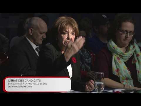 La campagne locale - débat Ottawa-Vanier (élections complémentaires provinciales du 17 nov. 2016)